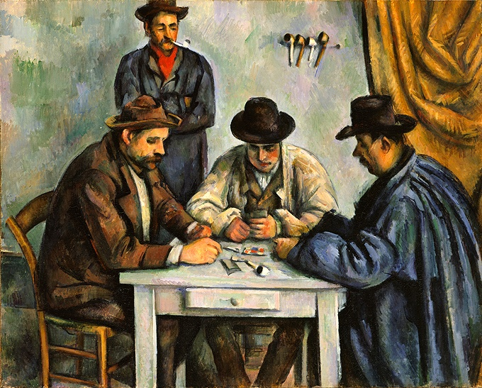 The Card Players Paul Cezanne